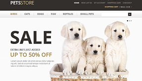 Pet Care Online Store
